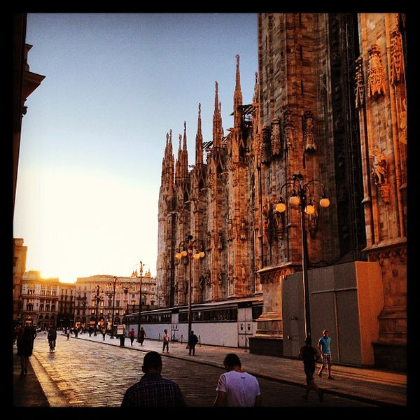 Photo prise au Dôme de Milan par Björn W. le9/9/2013