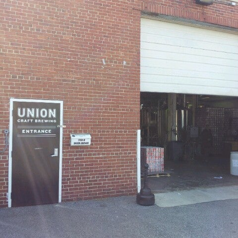 Photo taken at Union Craft Brewing by Adam V. on 3/23/2013