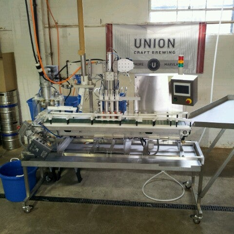 Photo taken at Union Craft Brewing by Adam V. on 4/4/2013