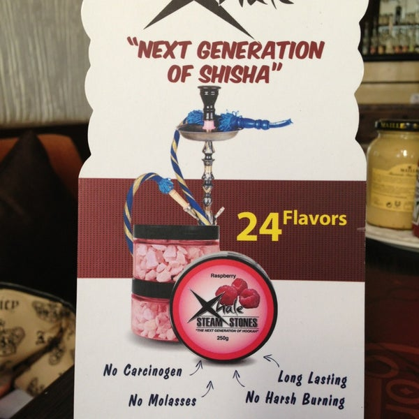 """A new """"No Tar No Nicotine"""" shisha is in the house. Amazing really. Great taste, great enjoinment and Healthy :)))"""
