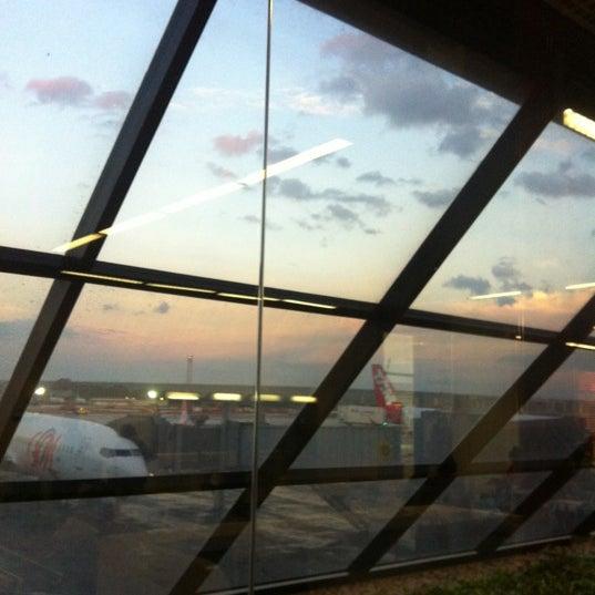 Foto tomada en Aeropuerto Internacional de Brasilia Presidente Juscelino Kubitschek (BSB) por Maria Teresa A. el 5/27/2013