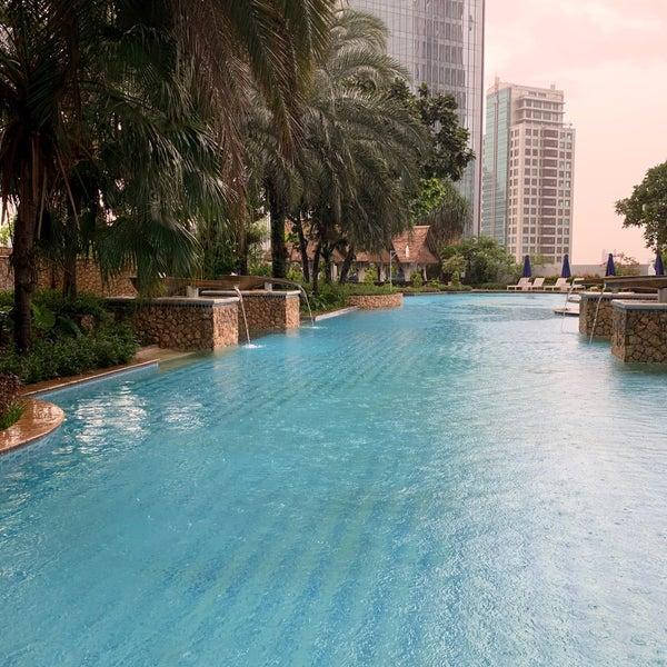 Swimming Pool Jakarta Selatan Jw Marriott Hotel