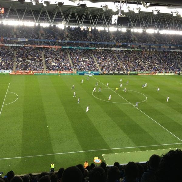 Foto diambil di RCDE Stadium oleh Santiago Gutiérrez N. pada 5/11/2013
