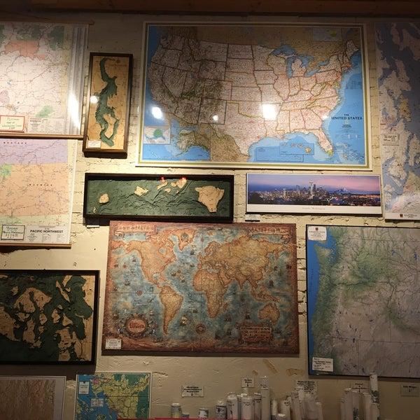Photo prise au Metsker Maps par Wen-Yu W. le10/10/2016