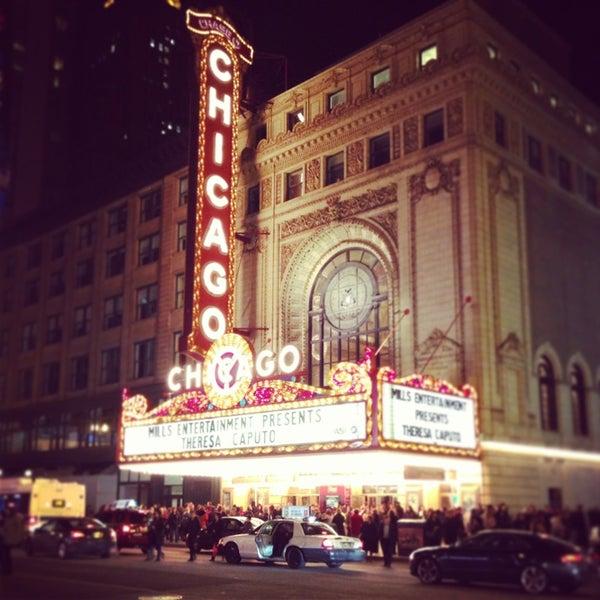 3/23/2013에 Rachel C.님이 The Chicago Theatre에서 찍은 사진