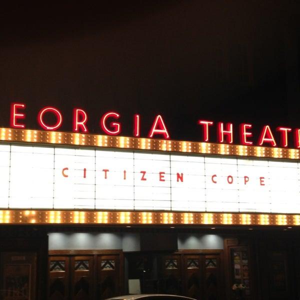 Das Foto wurde bei Georgia Theatre von Christy am 2/9/2013 aufgenommen