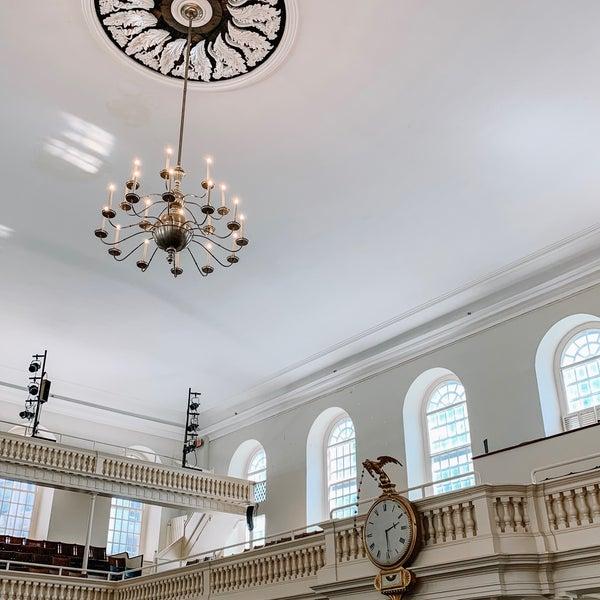รูปภาพถ่ายที่ Old South Meeting House โดย Grace R. เมื่อ 7/14/2019