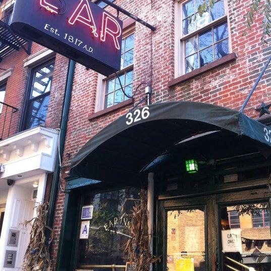 Снимок сделан в Ear Inn пользователем Allan 11/11/2012