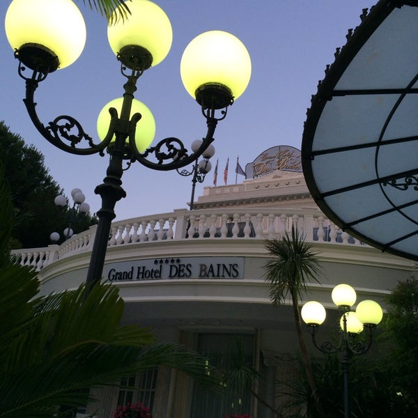 6/22/2014にDaniele L.がGrand Hotel Des Bainsで撮った写真