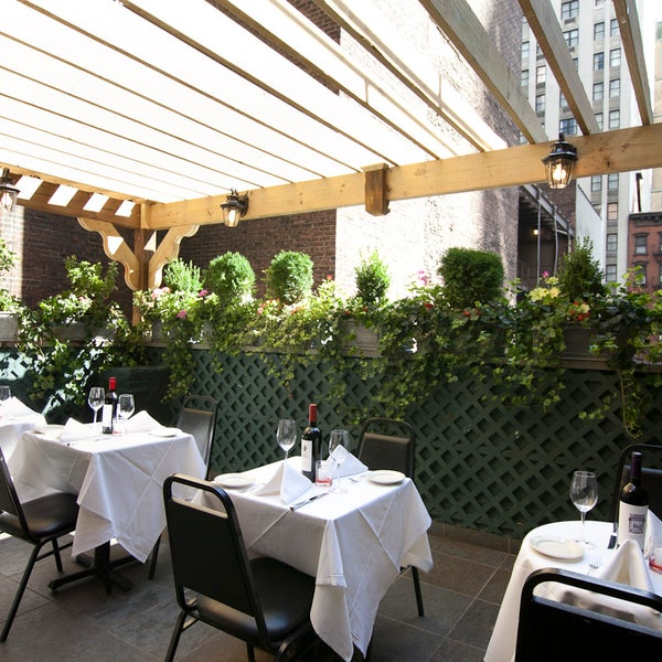 Beautiful day for lunch on our rooftop patio!