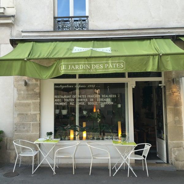 Le Jardin des Pâtes - Italian Restaurant in Paris