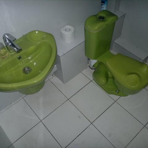 Детский унитаз в форме лягушки,пипец прикольно)
