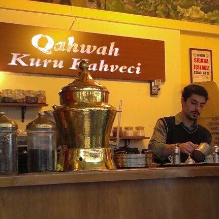 Foto tirada no(a) Qahwah por Emre ö. em 11/29/2012