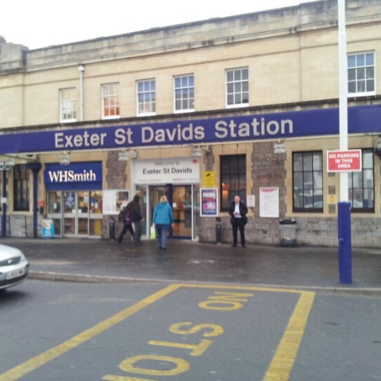 Exeter St Davids Railway Station Exd Exeter Devon