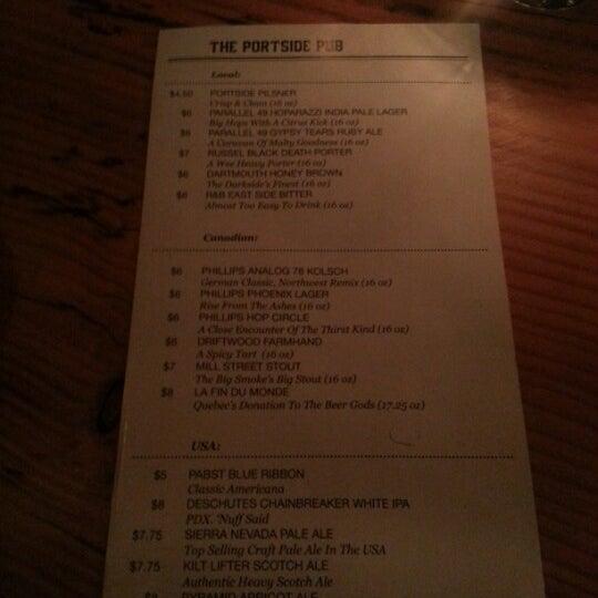 Photo prise au The Portside Pub par Andrew R. le2/1/2013