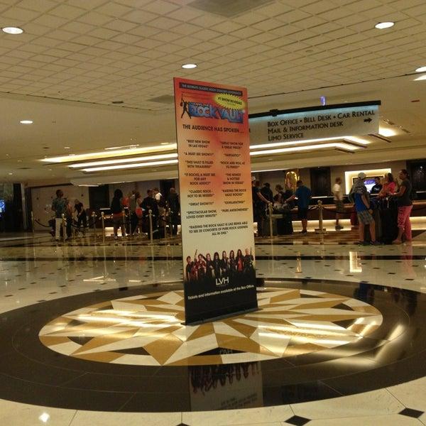 Снимок сделан в LVH - Las Vegas Hotel & Casino пользователем Akram J. 6/7/2013