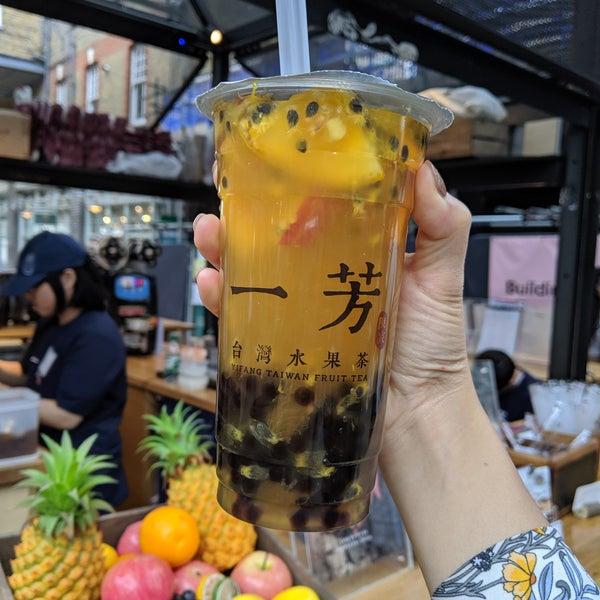 Yi Fang - Taiwan Fruit Tea - Spitalfields and Banglatown - 5