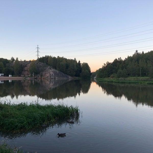 Das Foto wurde bei Pikkukosken uimaranta von Zhanna T. am 9/23/2018 aufgenommen