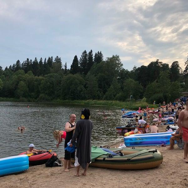 Das Foto wurde bei Pikkukosken uimaranta von Zhanna T. am 7/28/2018 aufgenommen