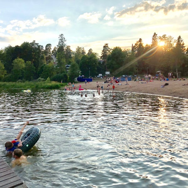 Das Foto wurde bei Pikkukosken uimaranta von Zhanna T. am 7/27/2018 aufgenommen