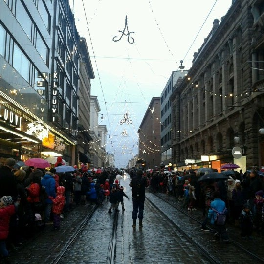 Photo taken at Aleksanterinkatu by Zhanna T. on 11 25 2012 580a4f50bf