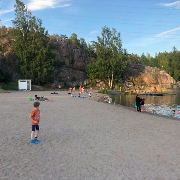 Das Foto wurde bei Pikkukosken uimaranta von Zhanna T. am 7/13/2018 aufgenommen
