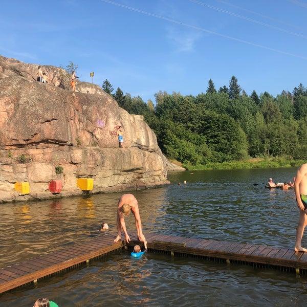 Das Foto wurde bei Pikkukosken uimaranta von Zhanna T. am 8/2/2018 aufgenommen