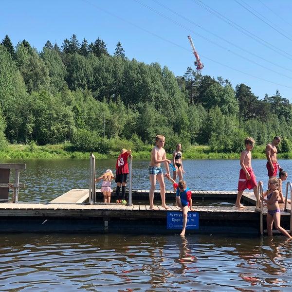 Das Foto wurde bei Pikkukosken uimaranta von Zhanna T. am 6/17/2018 aufgenommen