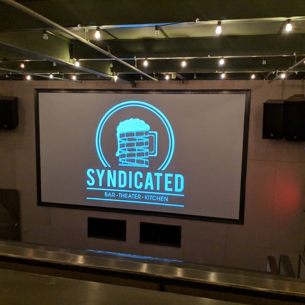 Photos At Syndicated Indie Movie Theater In East Williamsburg