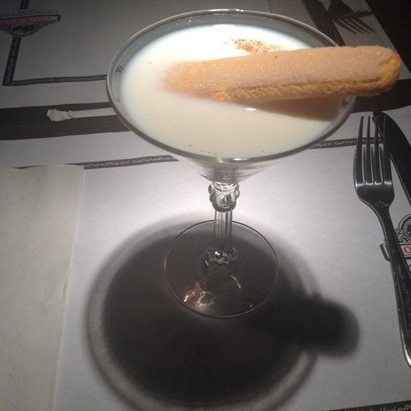 Try the tiramisu martini!!