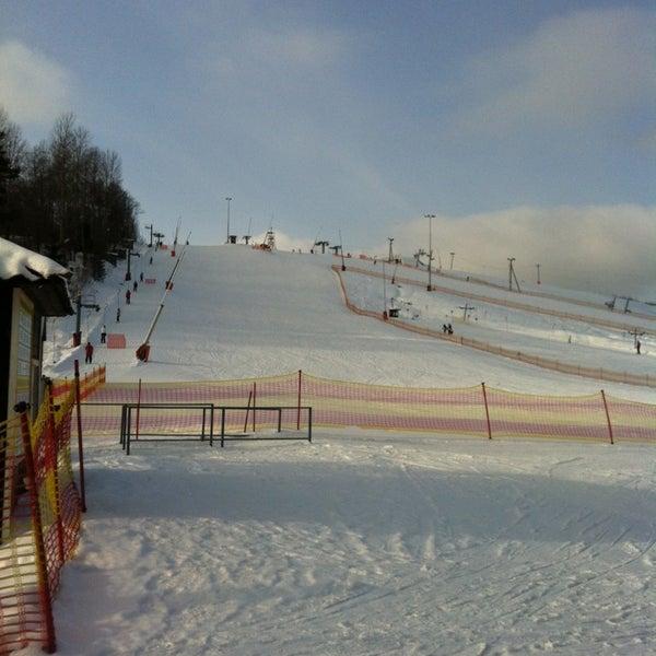2/19/2013 tarihinde Nastya K.ziyaretçi tarafından Охта Парк'de çekilen fotoğraf