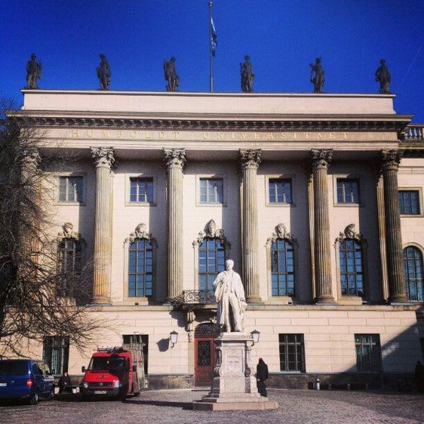 3/4/2013에 Landy님이 Humboldt-Universität zu Berlin에서 찍은 사진