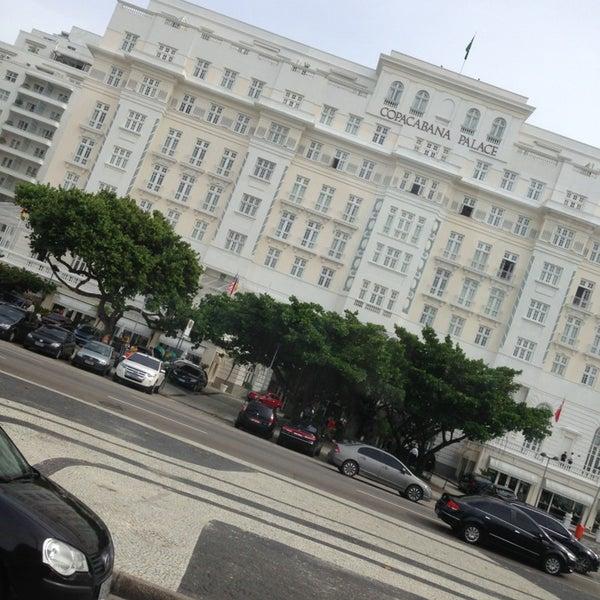 3/21/2013에 Drew R.님이 Belmond Copacabana Palace에서 찍은 사진