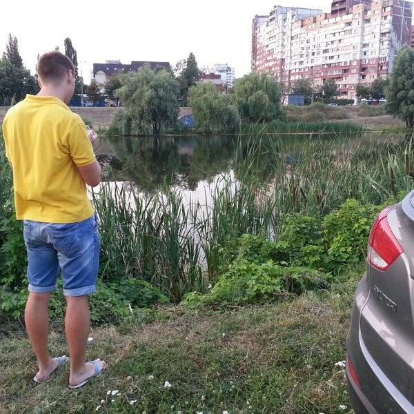 รูปภาพถ่ายที่ Троєщинський канал โดย Сергей К. เมื่อ 7/10/2013