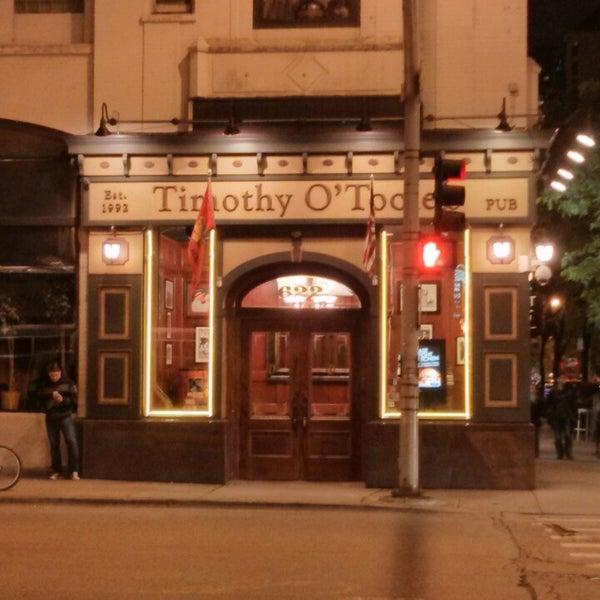 Foto scattata a Timothy O'Toole's Chicago da Carolina S. il 6/8/2013