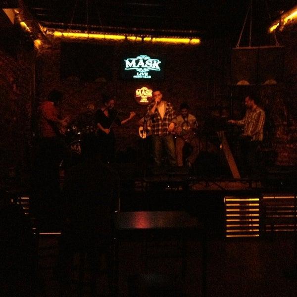Foto diambil di Mask Live Music Club oleh Fulden Kiresci pada 1/20/2013