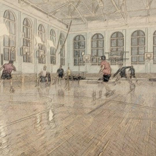 """Foto diambil di Бадминтонный клуб """"Спорт-Ресурс"""" oleh Andrey 🔆🔅🔆 pada 1/31/2013"""