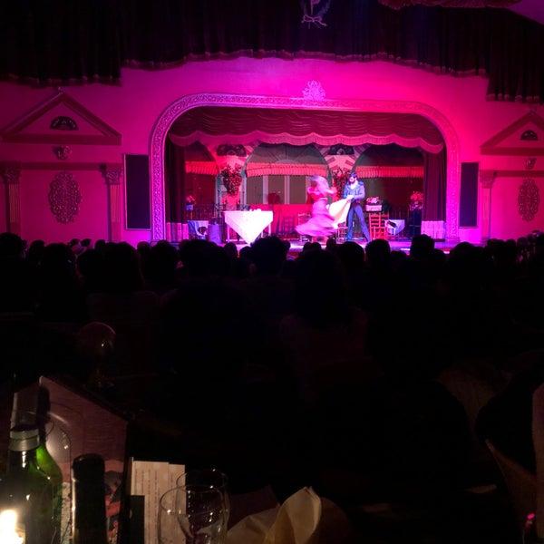 Foto tomada en Tablao Flamenco El Palacio Andaluz por E. B. el 2/17/2018