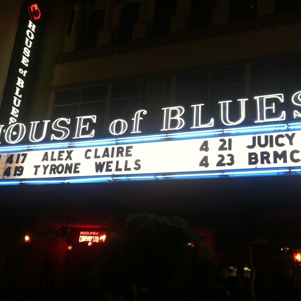 Foto tirada no(a) House of Blues San Diego por Willie em 4/16/2013