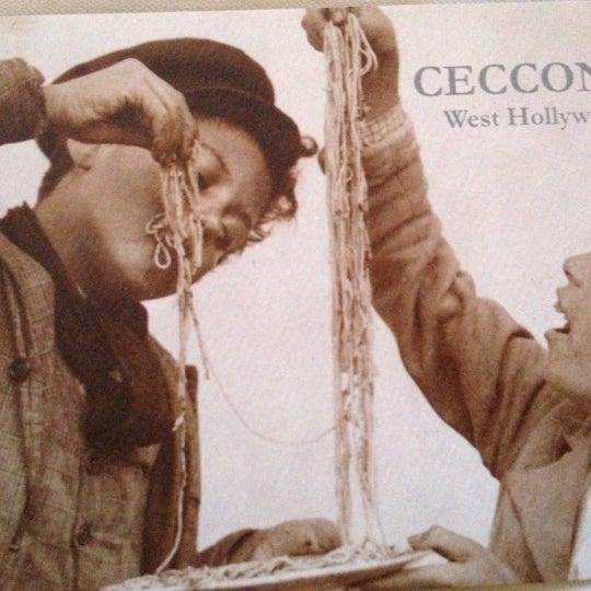 Foto tomada en Cecconi's por Regine S. el 11/12/2012