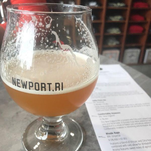 Das Foto wurde bei Newport Storm Brewery von Chris M. am 7/30/2018 aufgenommen
