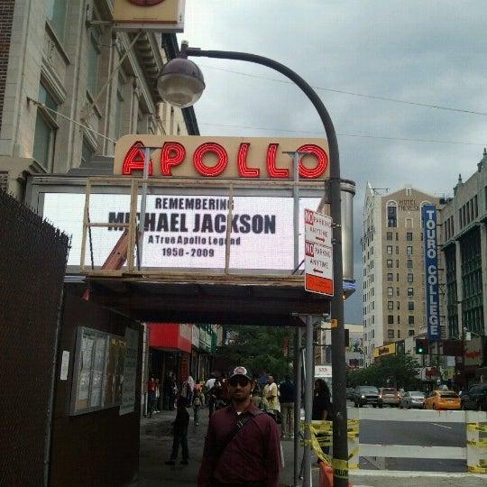 Das Foto wurde bei Apollo Theater von John P. am 6/25/2012 aufgenommen