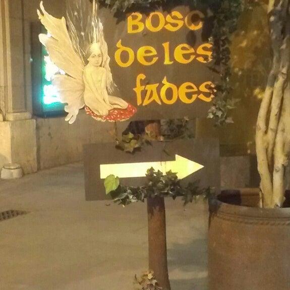 3/10/2013にMelina P.がEl Bosc de les Fadesで撮った写真