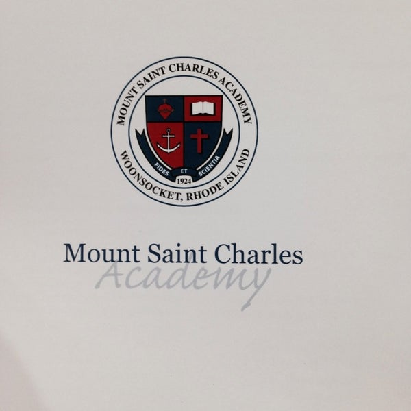 Photo Taken At Mount St Charles Academy By Rick D On 6