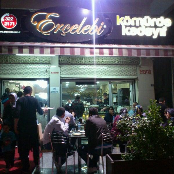 Foto scattata a Erçelebi Kömürde Kadayıf da Mustafa Kemal G. il 4/27/2013