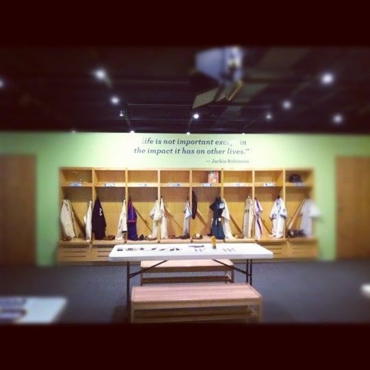 10/20/2012 tarihinde Katherineziyaretçi tarafından National Baseball Hall of Fame and Museum'de çekilen fotoğraf