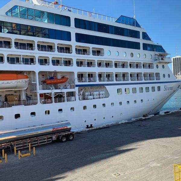 Cruise Ship Port Miami: Cruise Port Terminal J