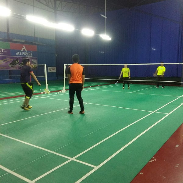 Photo taken at Challenger Sport Center by Hafidz F. on 8 10 2017. Syahir A. f72796f10b9bb