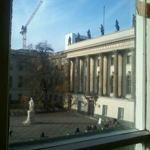 11/14/2013에 Marién S.님이 Humboldt-Universität zu Berlin에서 찍은 사진