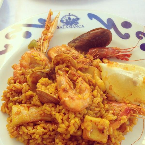 Das Foto wurde bei Restaurante Salamanca von Carla am 4/14/2013 aufgenommen